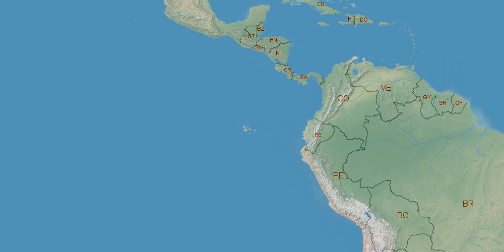 Where Is Colombia Located - Where is colombia