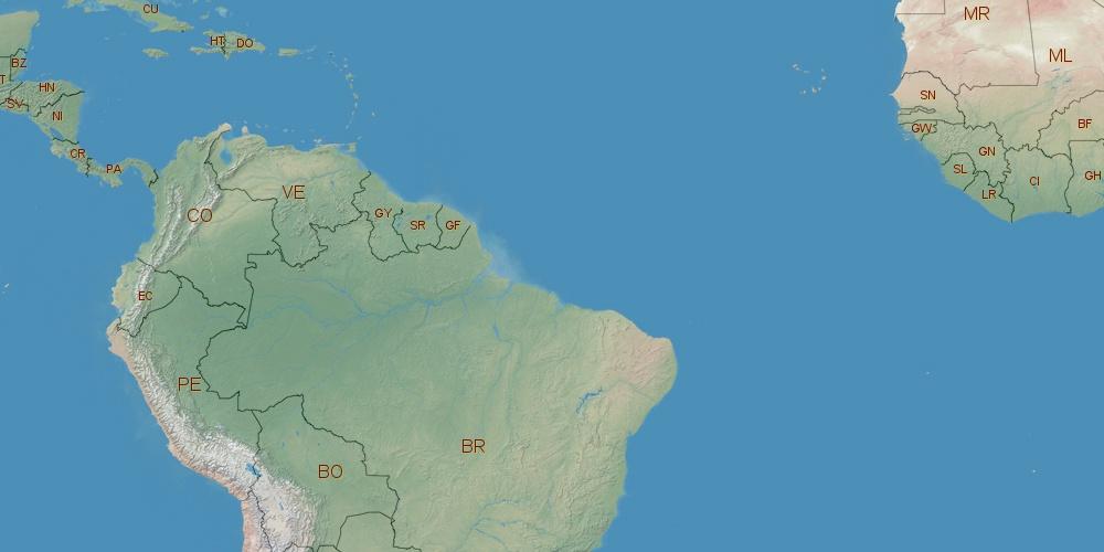 Where is Venezuela located?
