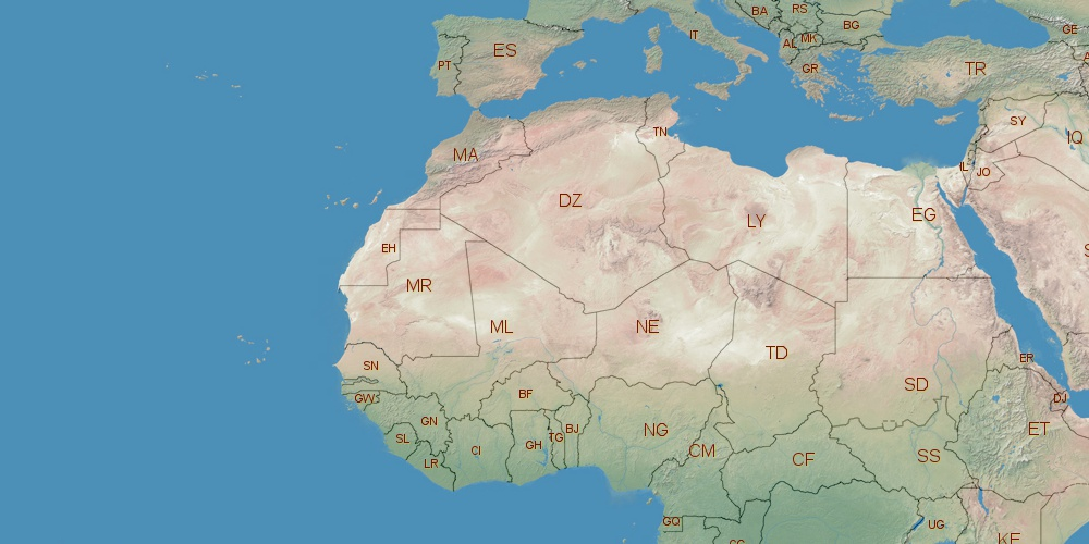 Where is libya located libya on world map gumiabroncs Images