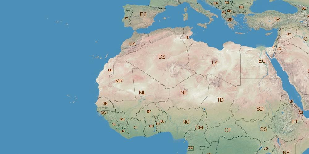 Where is Libya located